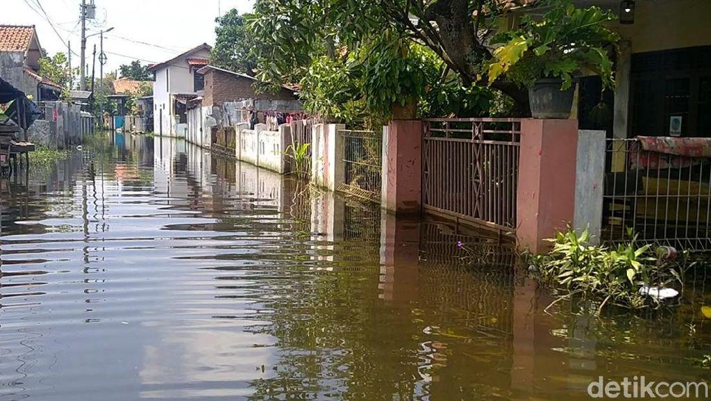 Banjir Masih Rendam Rumah Warga di Pekalongan