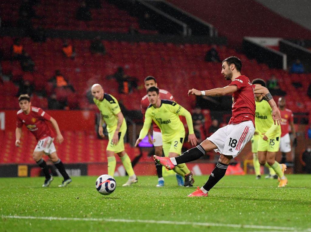 Spesialis Penalti: Bruno Fernandes Salip Messi dan Salah