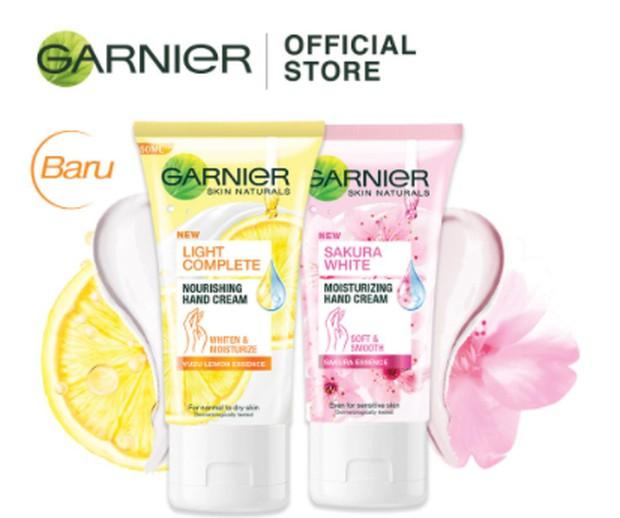 Garnier Hand Cream/shopee.co.id/garnierindonesia