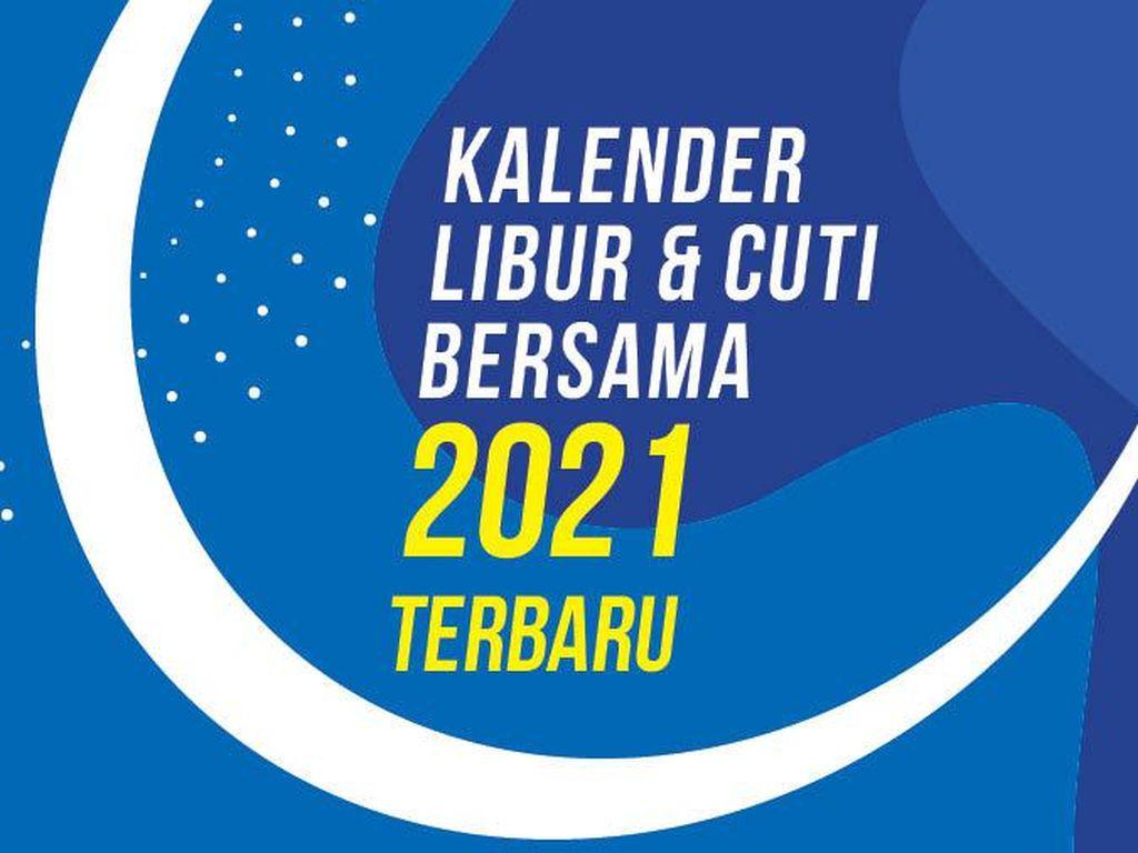 Cuti Bersama 2021 Dipotong dari 7 Hari Menjadi 2 Hari!