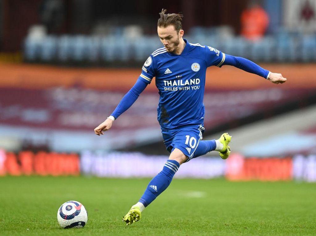 Leicester City Tegaskan Tak Ada Tawaran untuk James Maddison