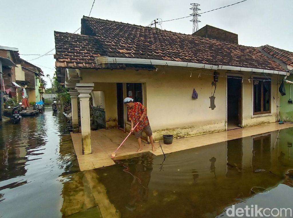 Pilu Warga Kudus Tak Bisa Kerja Gegara Kebanjiran Hampir Sebulan