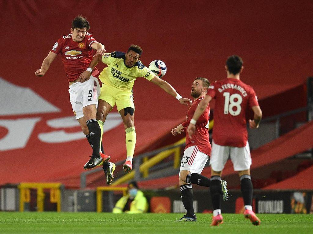 Turun Minum, Man United Vs Newcastle Imbang 1-1