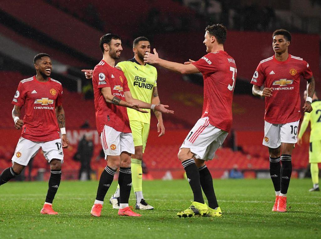 MU Vs Newcastle: Setan Merah Menang 3-1