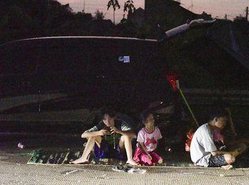 Korban Banjir Mengungsi di Proyek Tol Cibitung-Cilincing