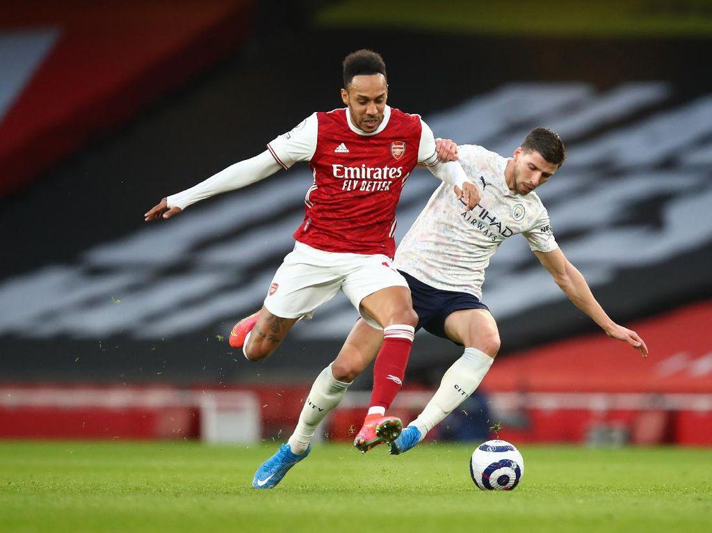 Gol Dramatis Aubameyang, Bawa Arsenal Lolos 16 Besar Liga Europa