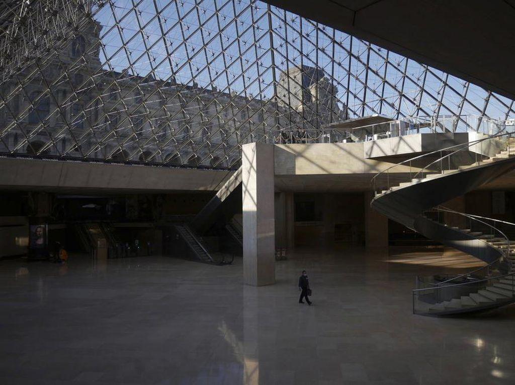 Foto: Museum Louvre Dipercantik