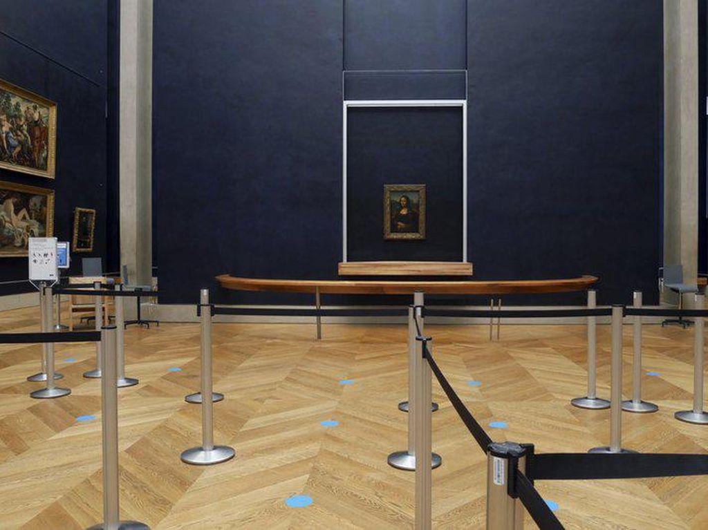 Tutup Karena Pandemi, Museum Louvre Putuskan Untuk Renovasi
