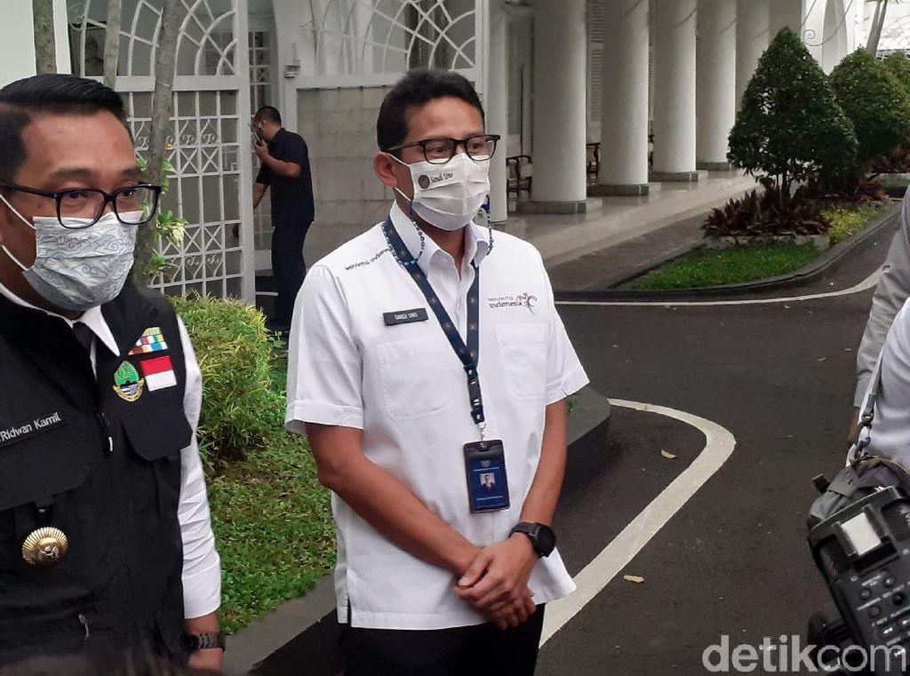 Sandiaga Uno dan Ridwan Kamil Buka Peluang Maju Bersama di 2024?