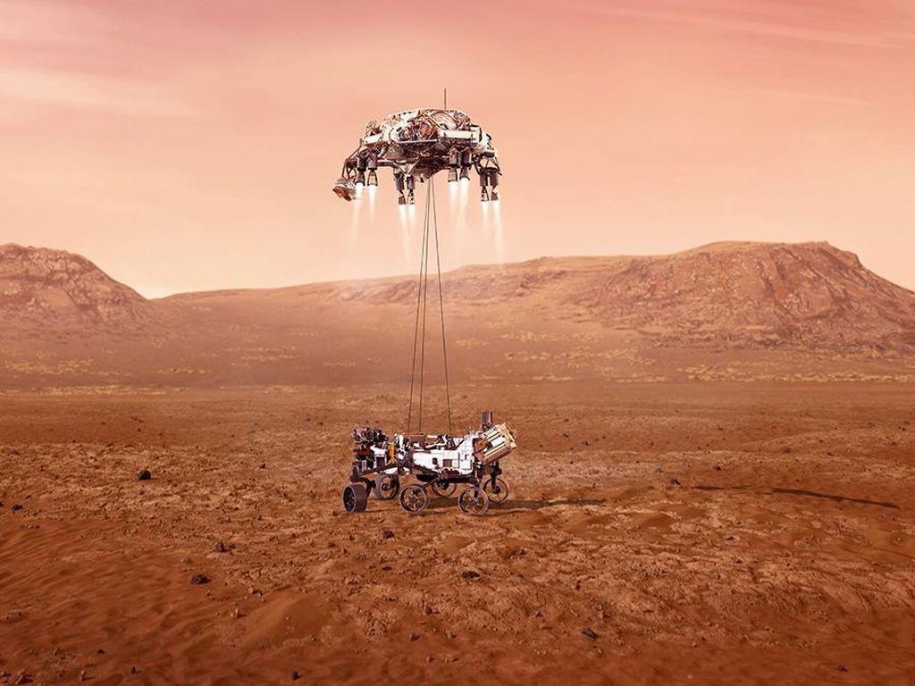 Hebatnya Misi AS ke Mars: Terbangkan Helikopter Hingga Bikin Oksigen