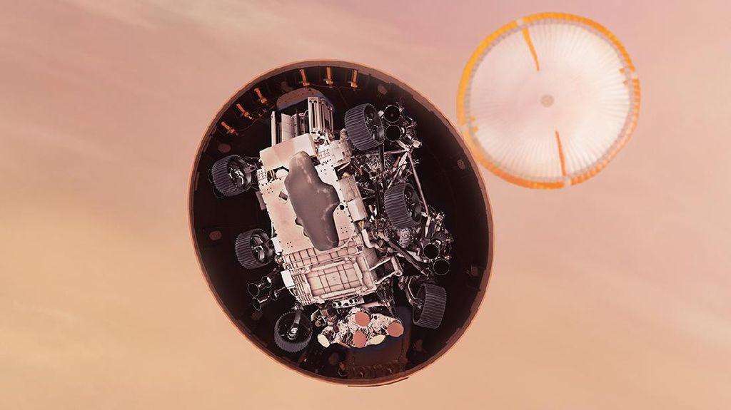 Melihat Perjalanan 480 Juta Kilometer Robot NASA ke Mars