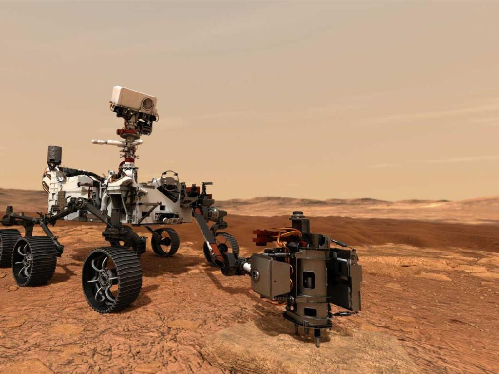 8 Kecanggihan Robot Perseverance Penjelajah Mars