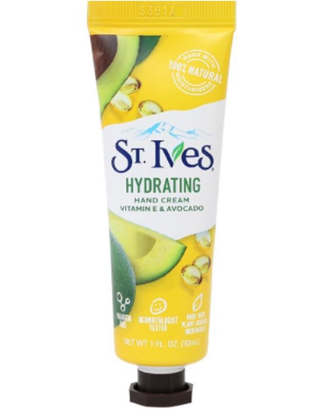 St. Ives Hydrating Vitamin E & Avocado Hand Cream/shopee.co.id/unileverindonesia