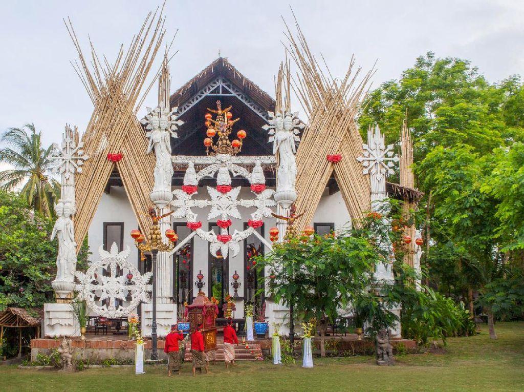 Cinta Gila di Balik Kemegahan Gedong Gandrung, Hotel Tugu Lombok