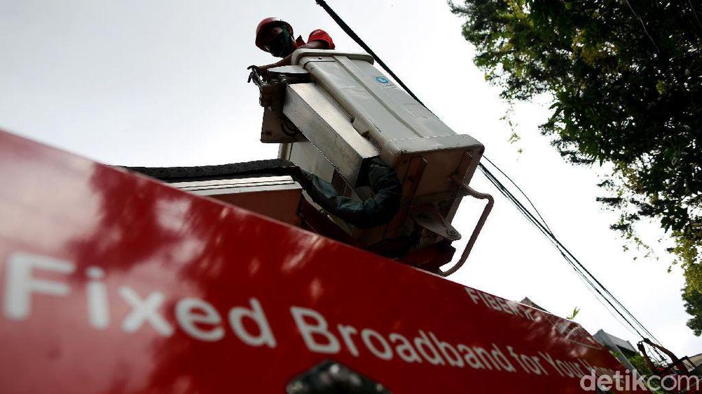 Usai Kebanjiran, Jaringan Internet di Jakarta Diperbaiki