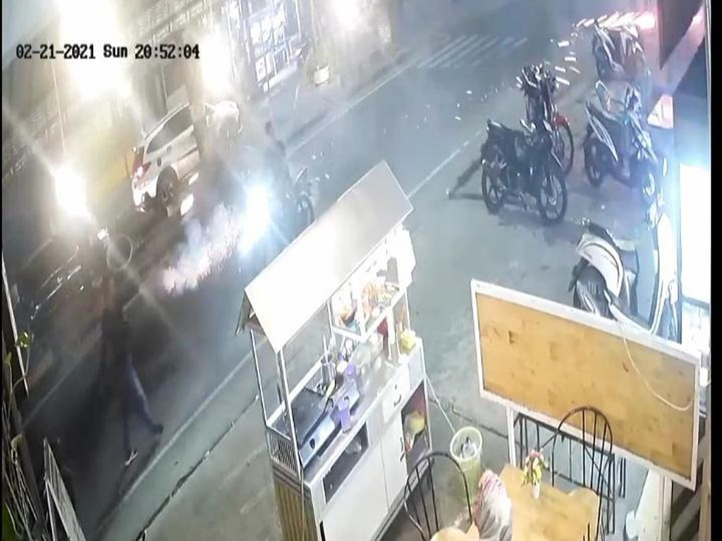 Viral Pelaku Pungli di Medan Tembak Petasan ke Pedagang, Polisi Selidiki