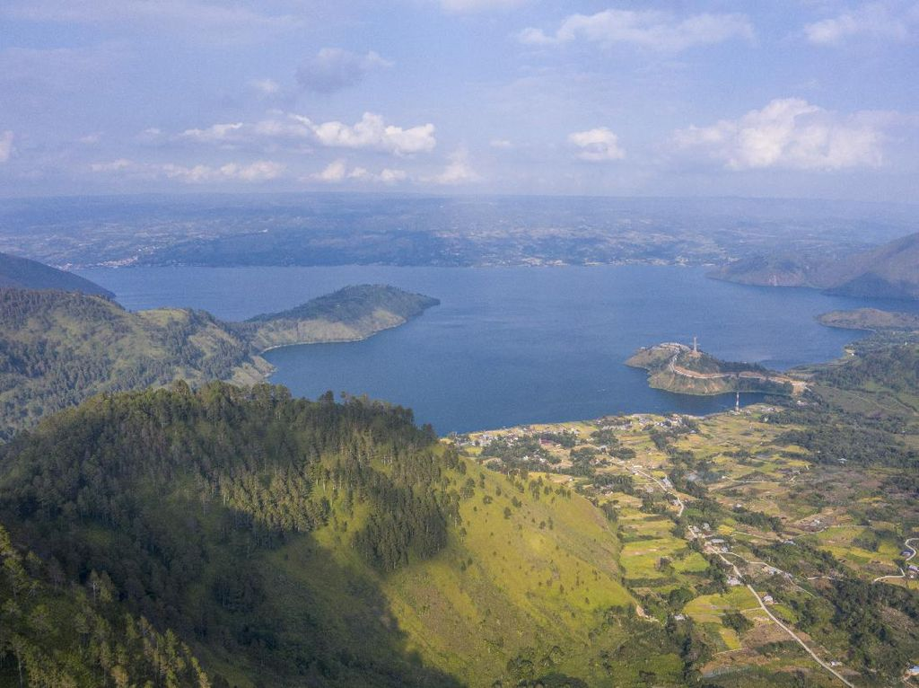 Air Danau Toba Dekati Level Minimum, Rekayasa Cuaca Dilakukan 20 Hari