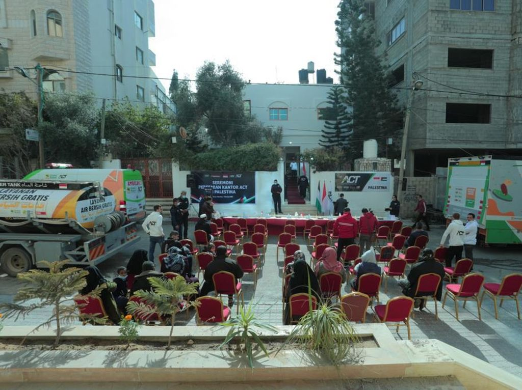 ACT Buka Kantor Cabang di Gaza Palestina