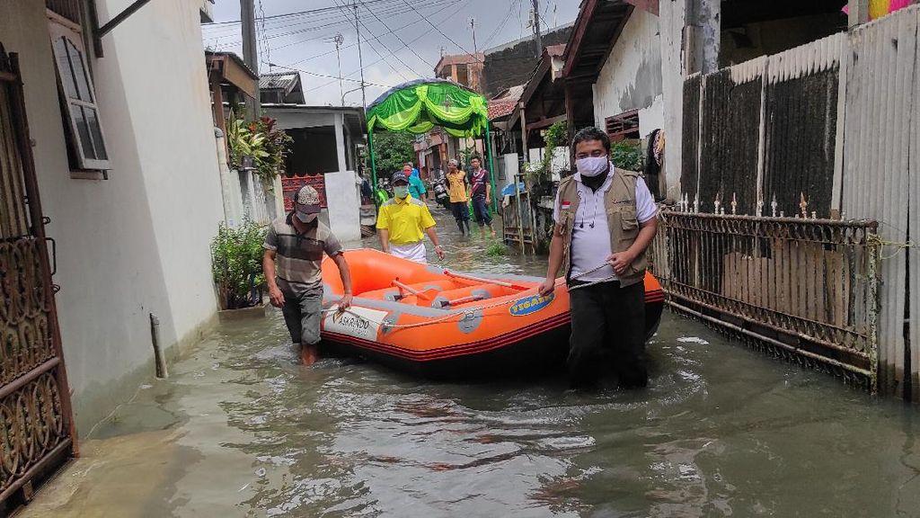 Aksi Tanggap Banjir di Bekasi