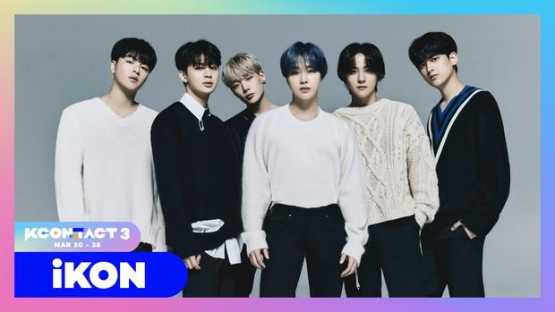 iKon menjadi salah satu line-up pertama KCON:TACT 3