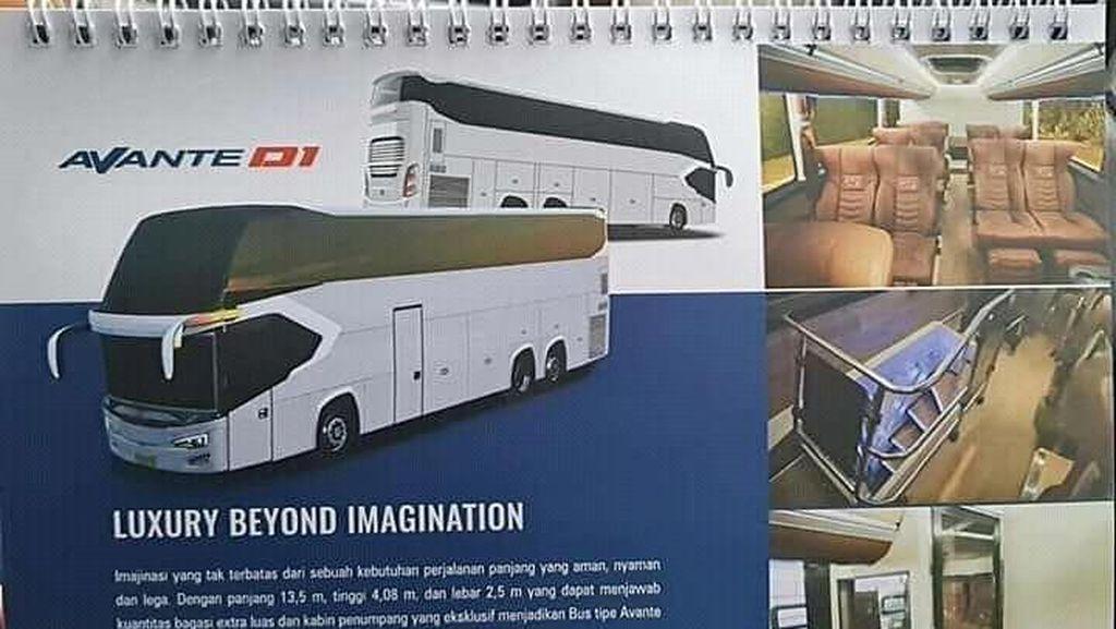 Ini Bocoran Sleeper Bus dan UHD Tentrem