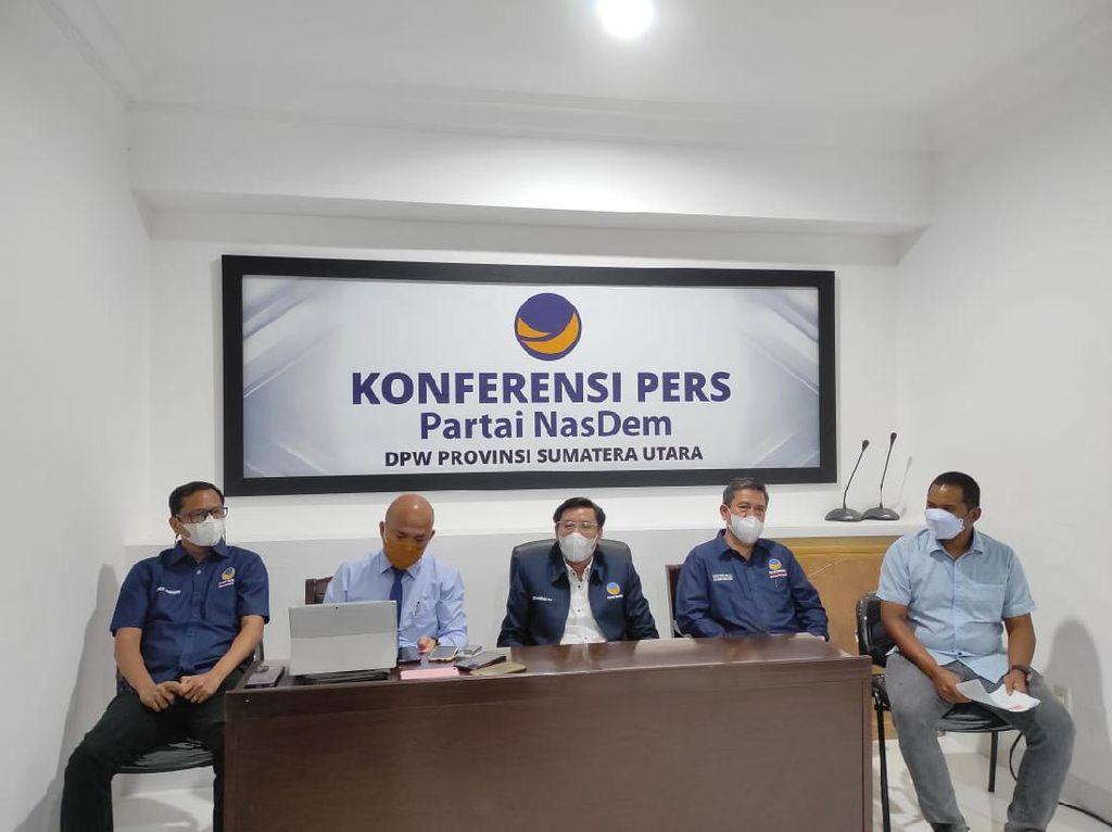 MK Tolak Gugatan Pilkada Tapsel, NasDem Sumut Akan Lapor ke Dewan Etik
