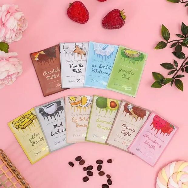 brand ini mengeluarkan 10 varian masker untuk memenuhi kebutuhan kulitmu masing-masing.