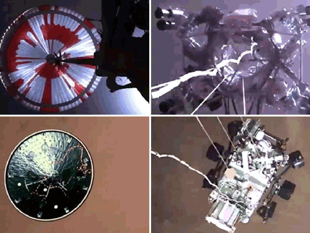 Foto dan Video NASA Ungkap Pendaratan Dramatis Perseverance di Mars