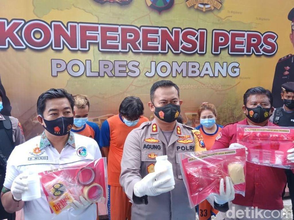 Bisnis Narkoba Satu Keluarga di Jombang Dibongkar, Omzetnya Tembus Rp 1 Miliar