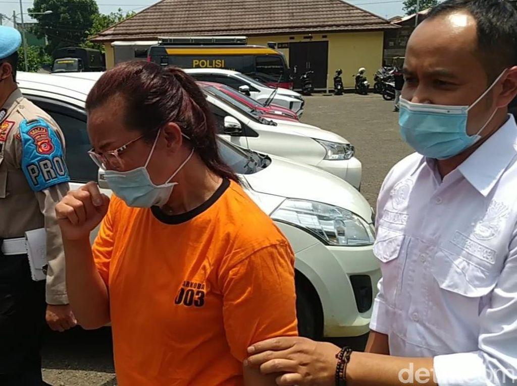 Edarkan Sabu, Ibu Rumah Tangga di Cianjur Ditangkap Polisi