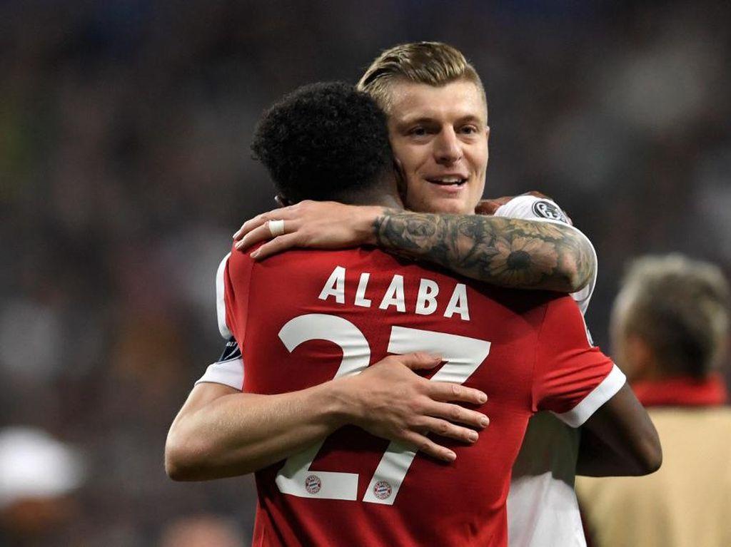 Kroos: Alaba Bagus, tapi Belum Tentu Cocok di Madrid