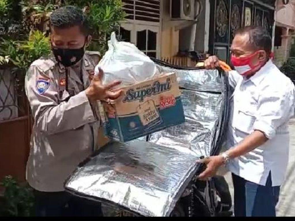 Delivery Isoman Polsek Sawah Besar, Semudah Layan Antar Makanan Cepat Saji
