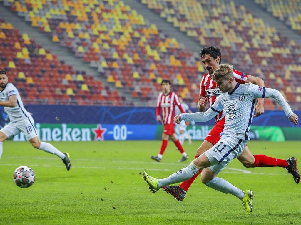 Babak I Atletico Vs Chelsea Selesai 0-0