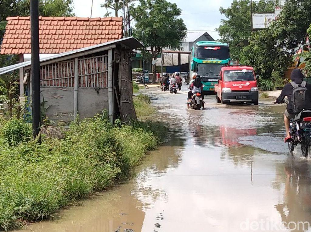 Banjir di Pati Berangsur Surut, Masih 16 Desa Terendam