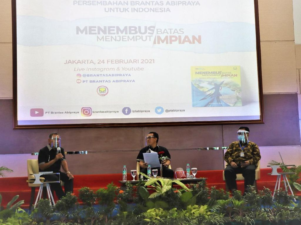 Brantas Abipraya Cerita Perjalanan Bangun Infrastruktur RI Lewat Buku