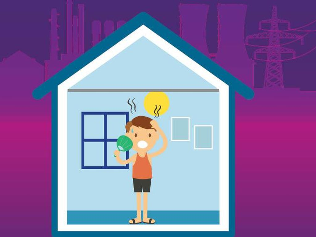 Udara Rumah Kamu Panas? Mungkin karena Ini
