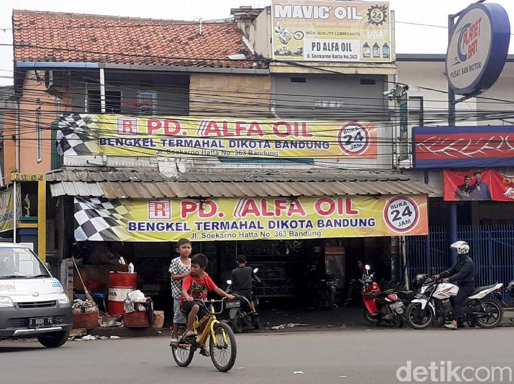 Melihat Lagi Bengkel Termahal di Kota Bandung