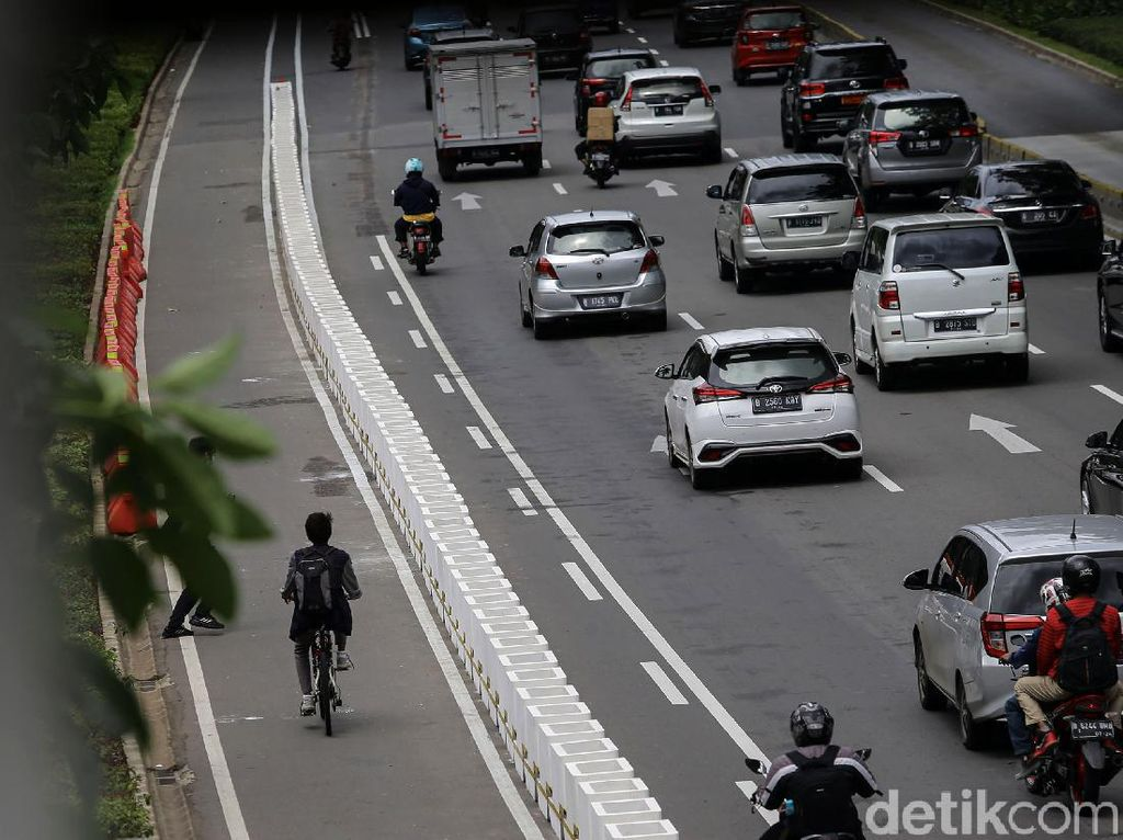 Pemprov DKI Rencanakan Bangun Jalur Sepeda 578,8 Km hingga 2030