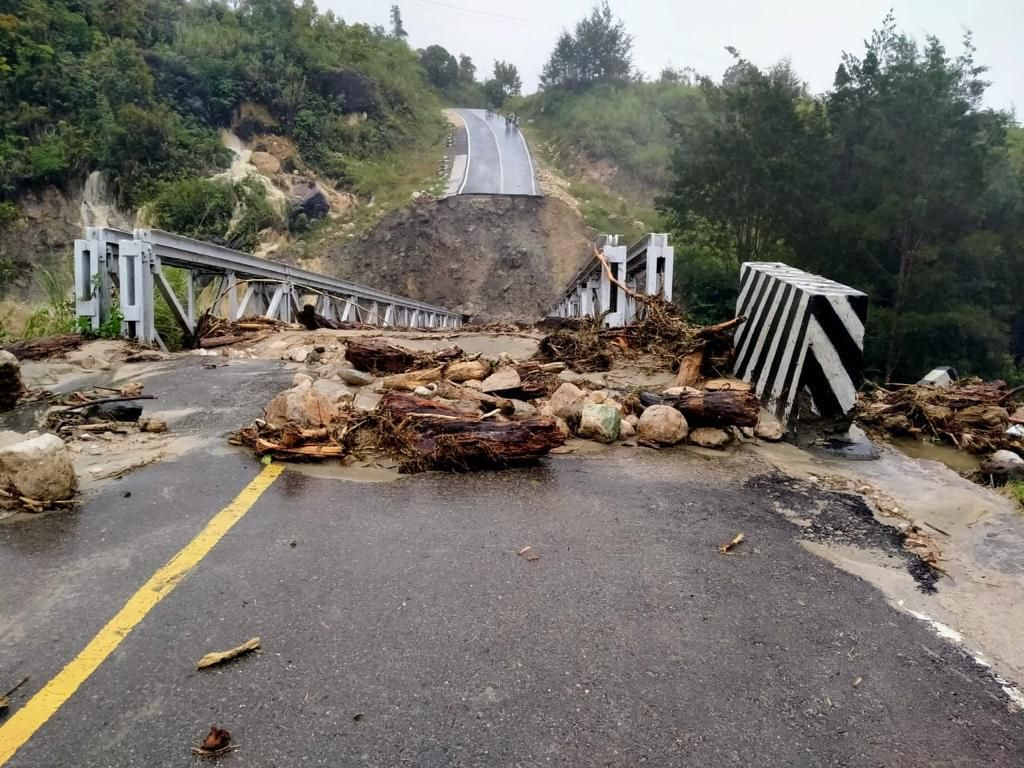 2 Jembatan di Jalur Jayapura-Wamena Putus, Kabupaten Yalimo Terisolasi