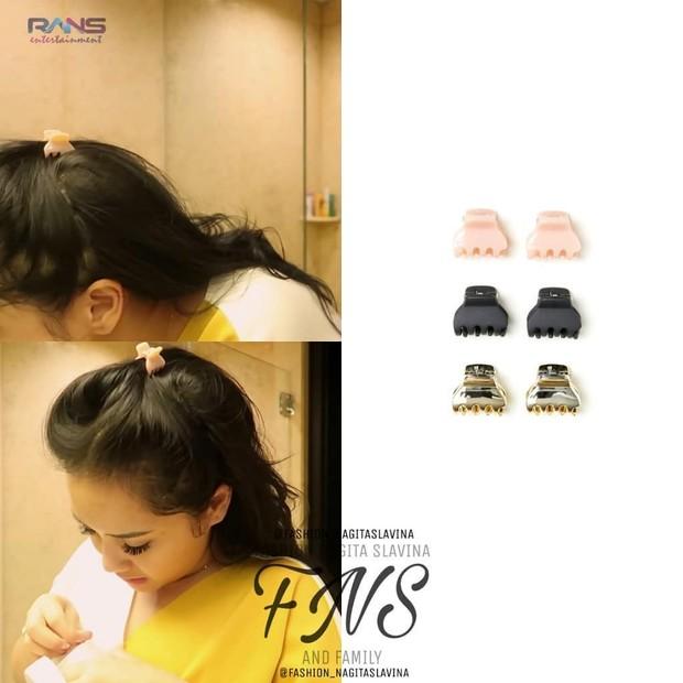 Jepit Rambut dari brand HM yang mini/instagram.com/fashion_nagitaslavina