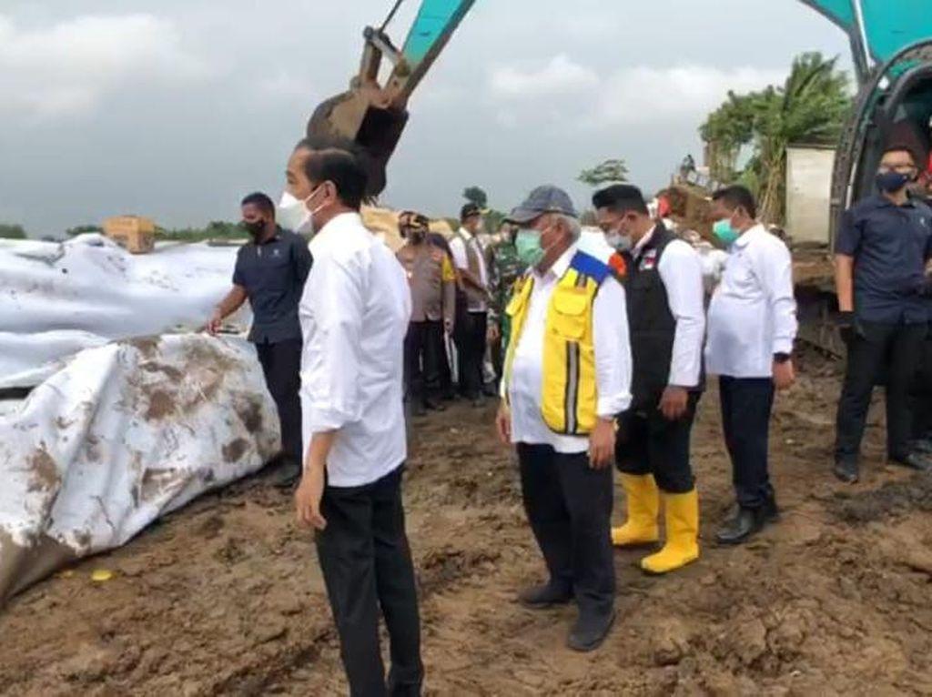 Jokowi Minta Perbaikan Tanggul Sungai Citarum Beres 2 Hari