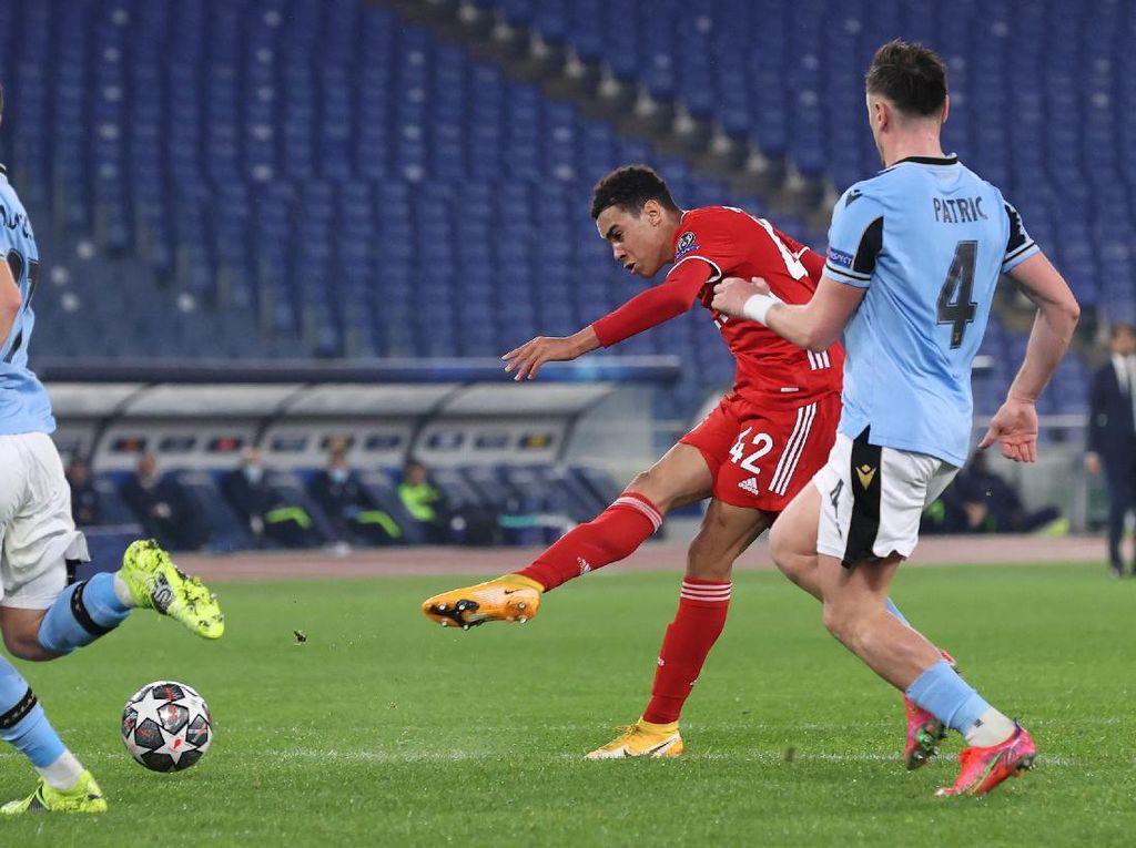 Jamal Musiala, Pemain Inggris Termuda yang Cetak Gol di Liga Champions