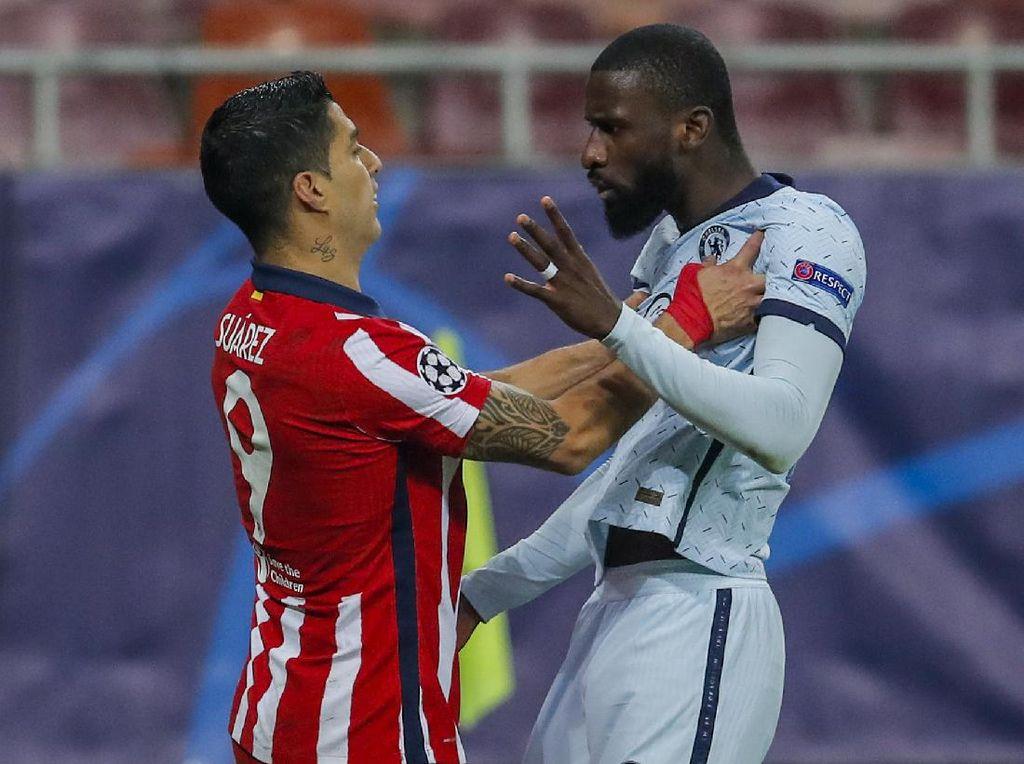 Chelsea Vs Atletico: Ruediger Pengin Balas Luis Suarez?