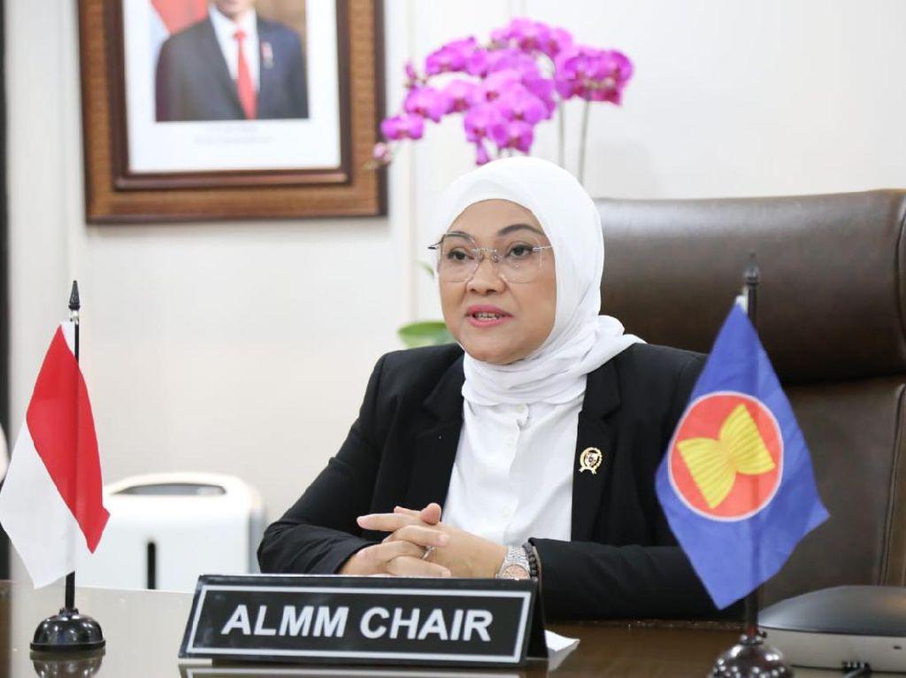 Menaker Galang Dukungan ASEAN OSHNET Atasi Dampak Pandemi COVID-19
