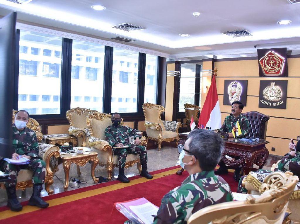 Panglima TNI-Pangab Diraja Brunei Bicara Kerja Sama Intelijen hingga Logistik