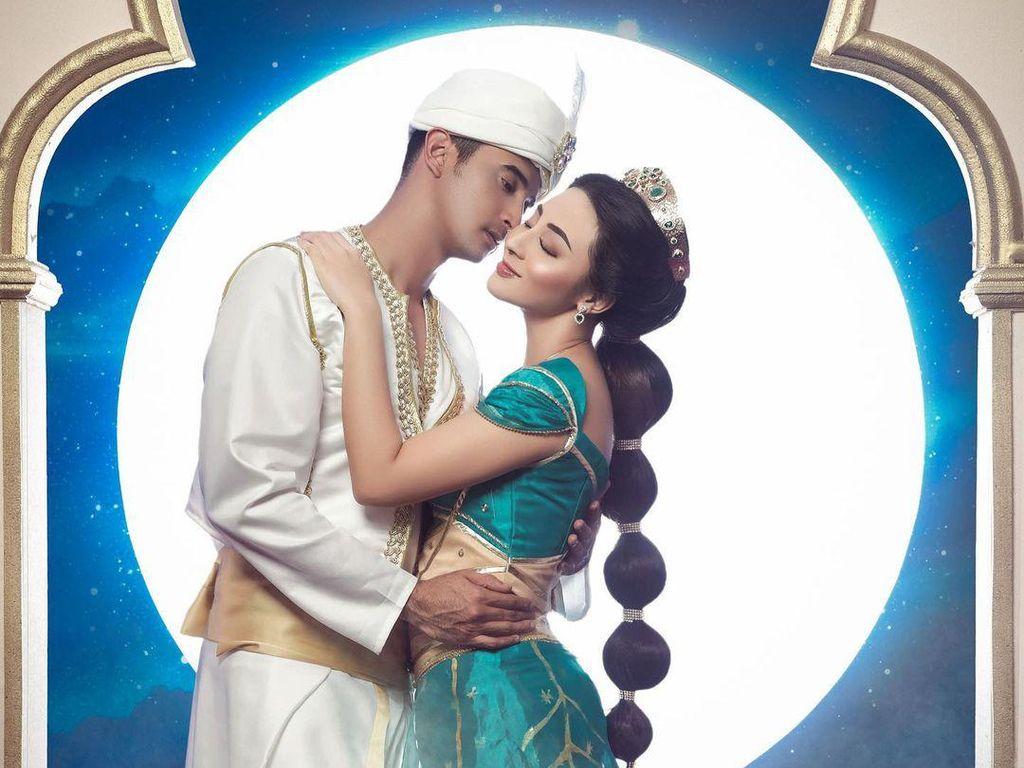 Saat 3 Sejoli Artis Indonesia Bergaya bak Aladdin Hingga Beauty & the Beast