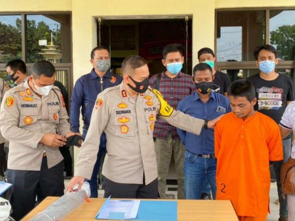 Dua Bulan Diburu, Pelaku Pembunuhan Petani di Sumsel Ditangkap di Banten
