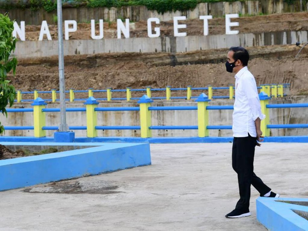 3 Bendungan untuk Rakyat NTT yang Diresmikan Jokowi