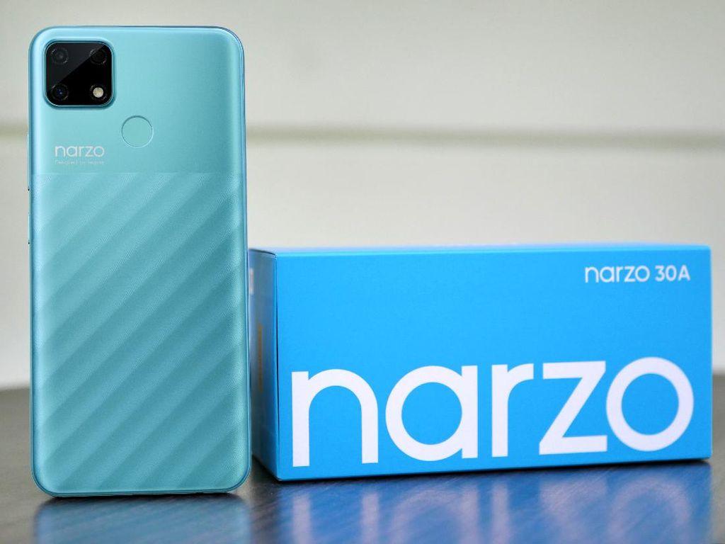 Harga dan Spesifikasi Realme Narzo 30a di India Menggoda