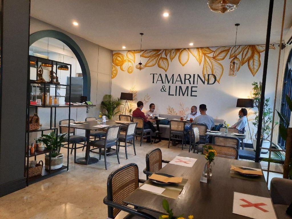 Menikmati Sajian dengan Citarasa Asia di Restoran Tamarind & Lime, Senopati